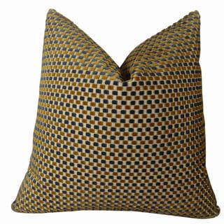 Plutus Prodigious Handmade Double Sided Throw Pillow