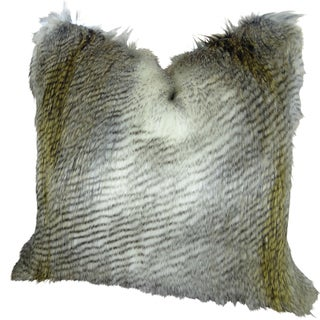 Plutus Alaskan Hawk Handmade Double Sided Throw Pillow