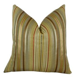 Plutus Kentucky Field Handmade Double Sided Throw Pillow