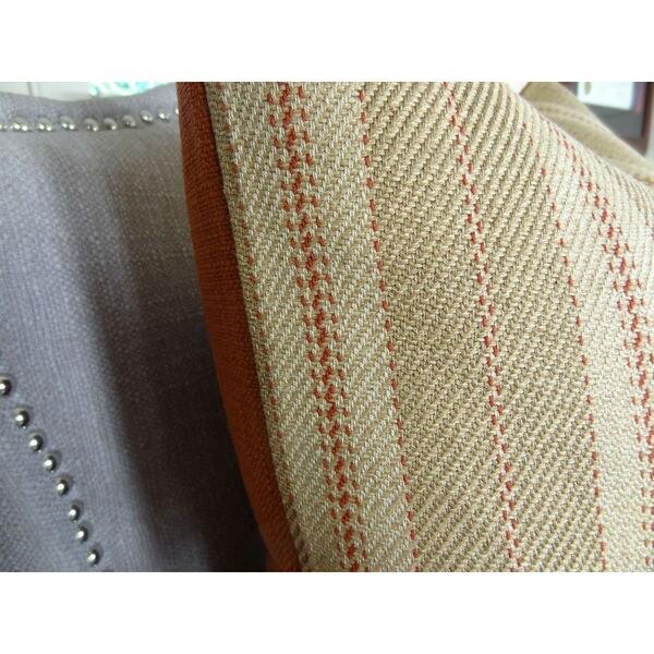 Plutus Woven Tweed Berry Handmade Pillow