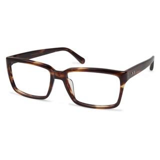 Cynthia Rowley Eyewear CR6017 No. 47 Brown Horn Round Plastic Eyeglasses