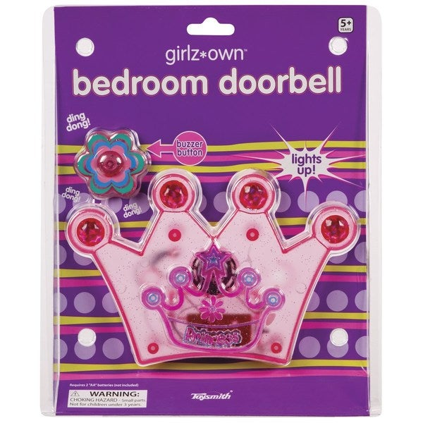 Toysmith Princess Bedroom Doorbell