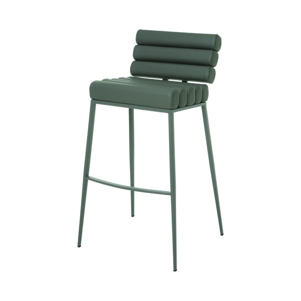 Fuego Maya Grey Bar Stool