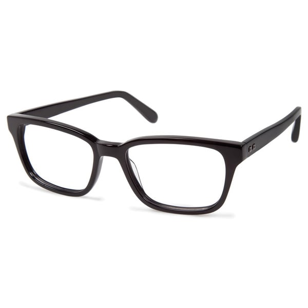 Cynthia Rowley Eyewear CR6002 No. 85 Black Square Plastic Eyeglasses