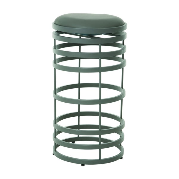 Grafton Grey Swivel Bar Stool