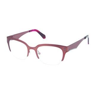 Cynthia Rowley Eyewear CR 5032 No. 26 Satin Brown Square Metal Eyeglasses