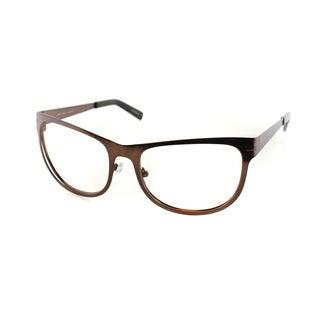 Cynthia Rowley Eyewear CR6021 No. 80 Brown Square Metal Eyeglasses