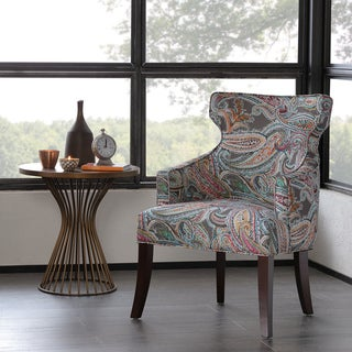 Madison Park Kita Notch Back Accent Chair