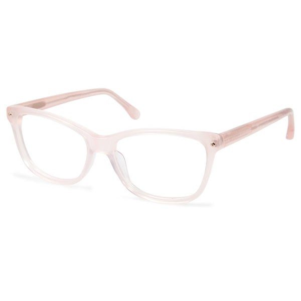 Cynthia Rowley Eyewear CR5001 No. 88 Blush Square Plastic Eyeglasses