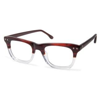 Cynthia Rowley Eyewear CR5003 No. 62 Brown Fade Square Plastic Eyeglasses