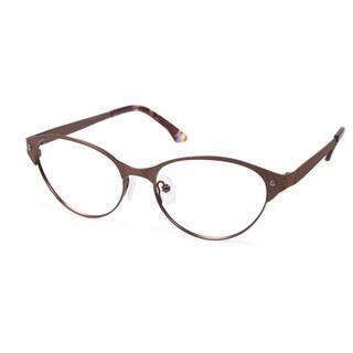 Cynthia Rowley Eyewear CR5004 No. 12 Bronze Cat-Eye Metal Eyeglasses