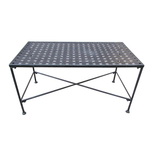 Christopher knight home petra outdoor iron coffee table 18195213