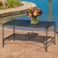 Christopher Knight Home Petra Outdoor Iron Coffee Table