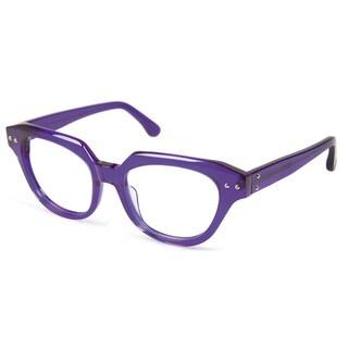 Cynthia Rowley Eyewear CR5012 No. 29 Indigo Cat-Eye Plastic Eyeglasses