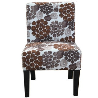 Grace Floral Accent Chair