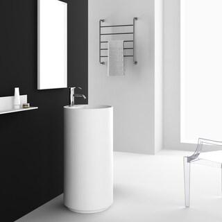 Fine Fixtures Crestview White Pedestal Sink