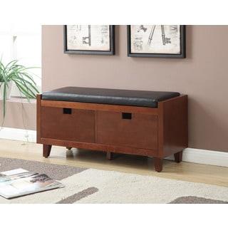 Convenience Concepts Designs4Comfort Baron Hallway Storage Bench