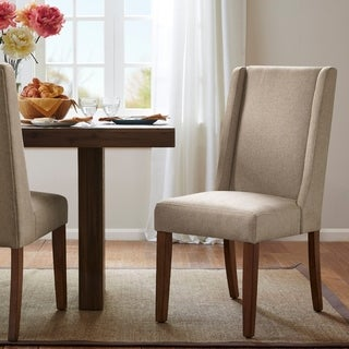 """Madison Park Victor Wing Dining Chairs (Set of 2) - 18.5""""w x 27""""d x 39.25""""h (2)"""