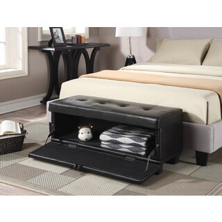 Convenience Concepts Designs4Comfort Front Drop Down Hinged Ottoman