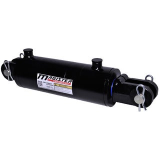 Welded Double Acting Hydraulic Cylinder Clevis 3.5-inch Bore 12-inch Stroke