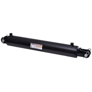 Welded Double Acting Hydraulic Cylinder Clevis 3.5-inch Bore 20-inch Stroke