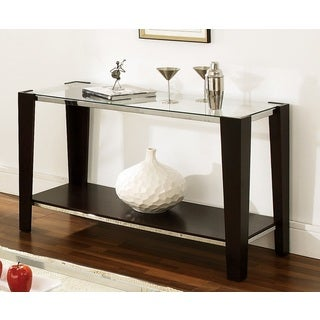 Greyson Living Lancing Glass Top Sofa Table