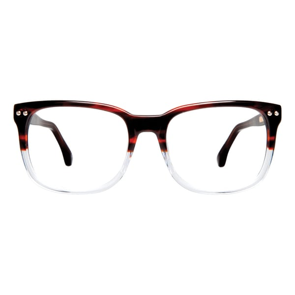 Cynthia Rowley Eyewear CR5013 No. 33 Brown Fade Rectangle Plastic Eyeglasses