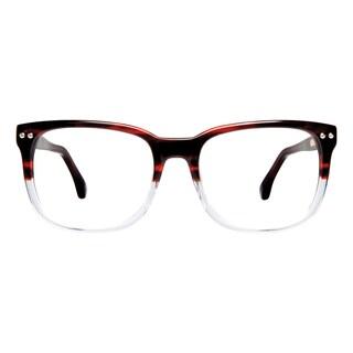 Cynthia Rowley Eyewear CR5013 No. 33 Brown Fade Rectangle Plastic Eyeglasses