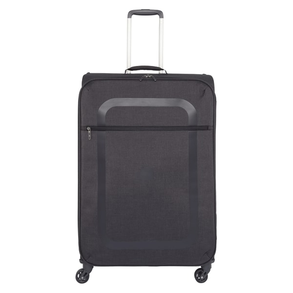 Delsey Dauphine Black 28-inch Spinner Upright Suitcase