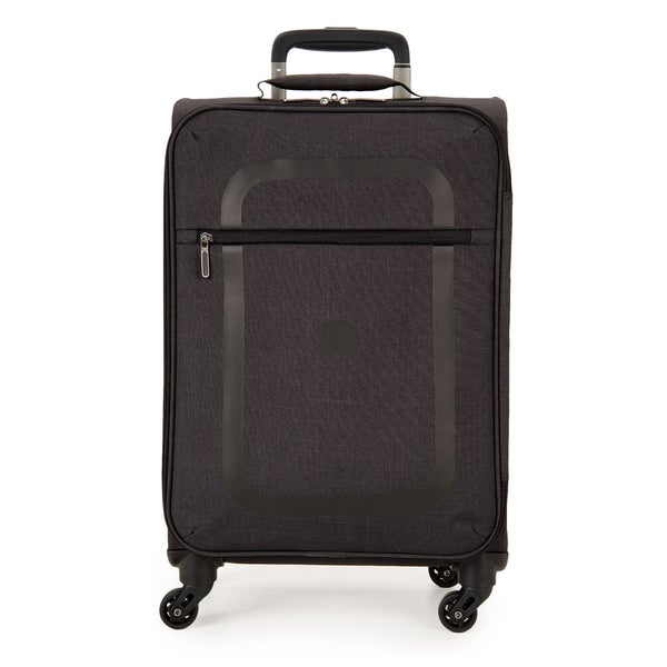 Delsey Dauphine Black 19-inch Carry-on Spinner Upright Suitcase