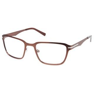 Cynthia Rowley Eyewear CR 6020 No. 37 Matte Brown Rectangle Metal Eyeglasses