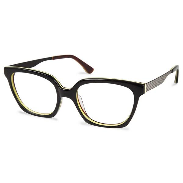 Cynthia Rowley Eyewear CR5024 No. 65 Black Round Metal Eyeglasses