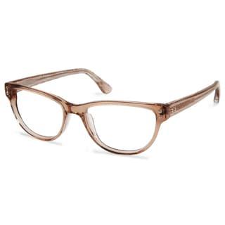 Cynthia Rowley Eyewear CR5022 No. 45 Brown Round Plastic Eyeglasses