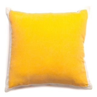 Braxton Yellow 20-inch Throw Pillow