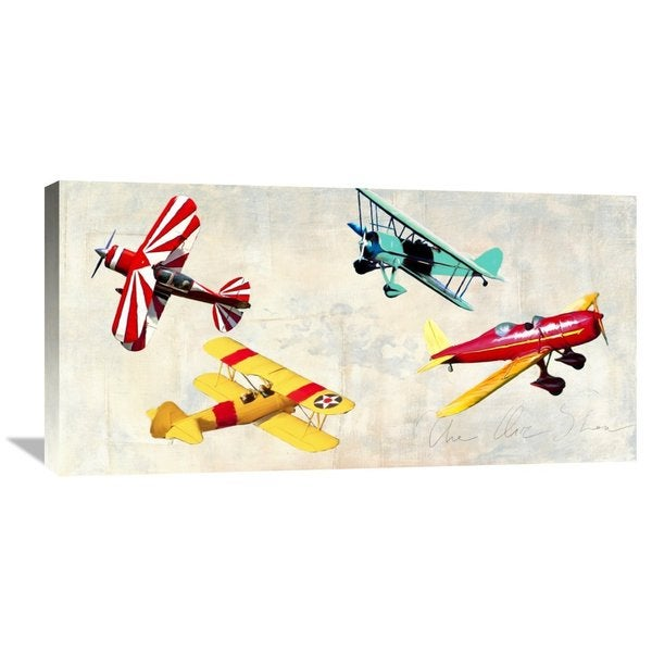 Big Canvas Co. Teo Rizzardi 'The Air Show' Stretched Canvas Artwork