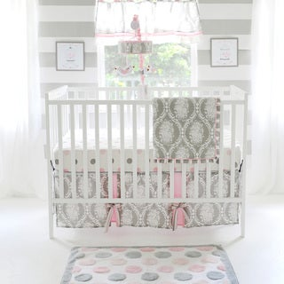 My Baby Sam Olivia Rose 3-piece Crib Bedding Set
