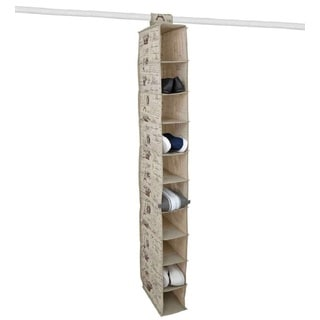 The Paris Collection By Home Basics 10-Pocket Shelf Organizer