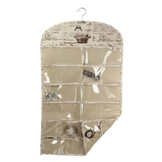The Paris Collection By Home Basics Hanging Jewelry Organizer