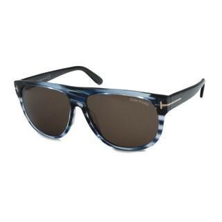Tom Ford TF0375 Kristen Men's Rectangular Sunglasses