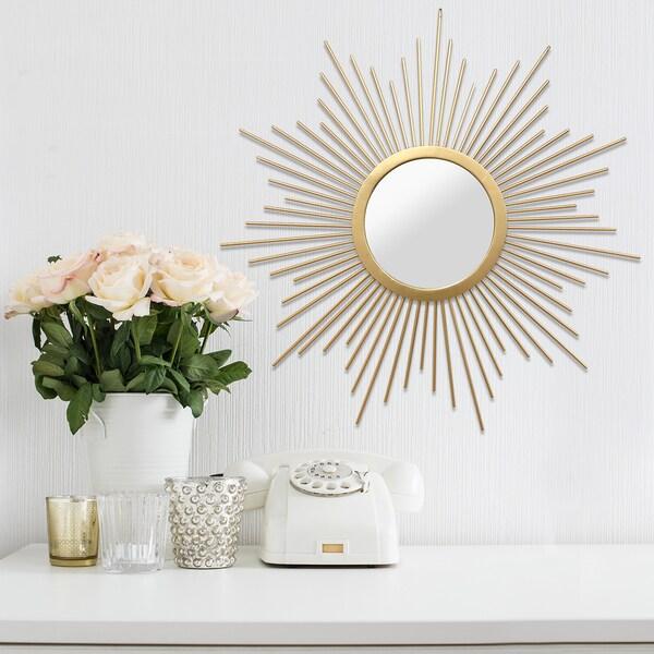 stratton home decor bella wall mirror 18198519 bella home decor