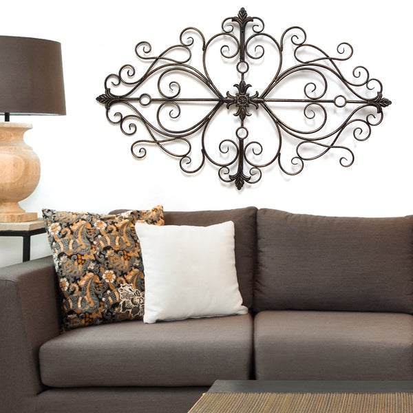 stratton home decor traditional scroll wall decor overstock furniture home d 233 cor daily sales on the