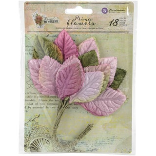 Royal Menagerie Mulberry Paper Leaves Patricia 1.25in To 2.65in, 18/Pkg
