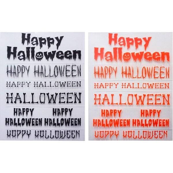 Little B Rub Ons 2/Pkg Happy Halloween