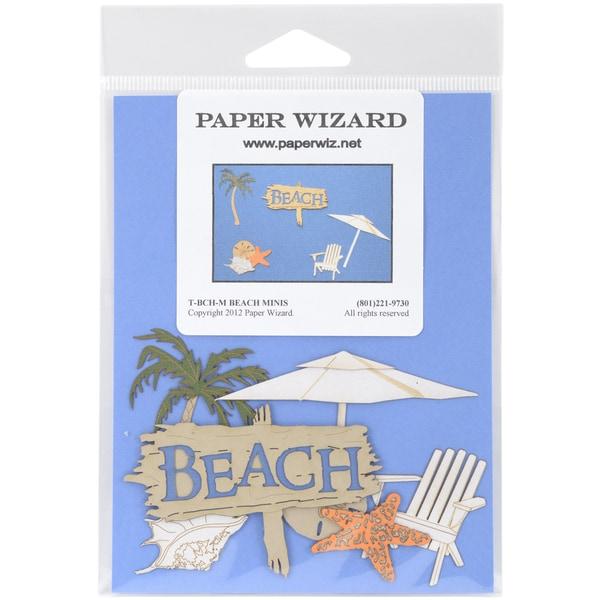 Paper Wizard Die Cut Beach Mini's*