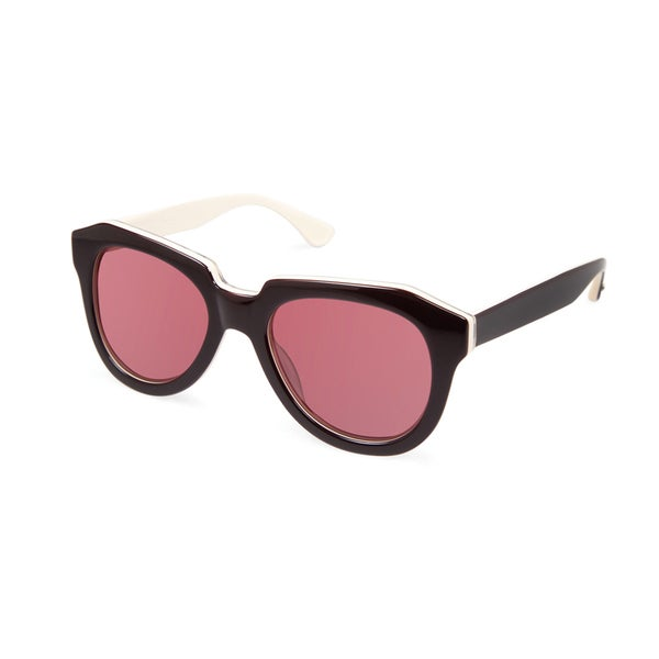 Cynthia Rowley Eyewear CR5028S No. 81 Black Fashion Plastic Sunglasses