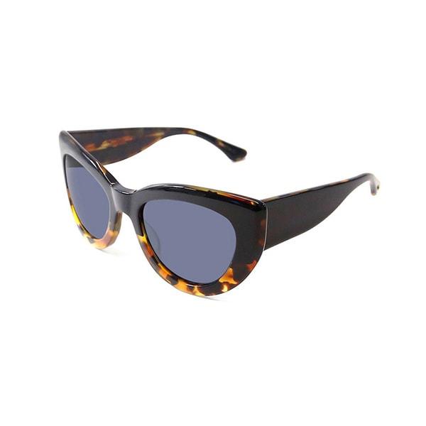 Cynthia Rowley Eyewear CR5030S Miss Z Cat-Eye Black Tortoise Sunglasses