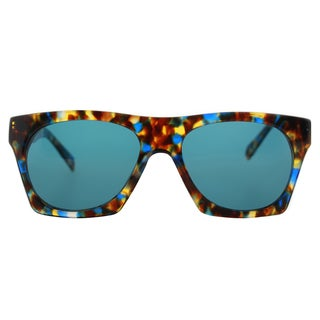 Cynthia Rowley Eyewear CR5026 S No.32 Blue Tortoise Fashion Plastic Sunglasses