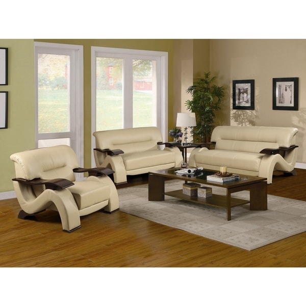 Napoli Sofa Set Cream