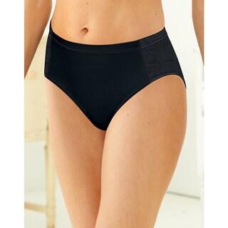 Bali Women's Active Cool Comfort High Cut Briefs