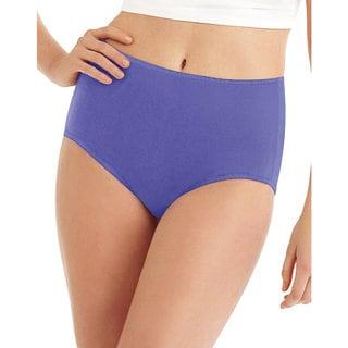 Hanes Women's Cool Comfort Microfiber Brief 8-Pack
